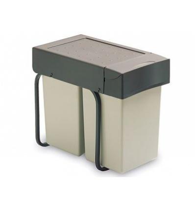Cubo basura reciclaje extraible - Cubos basura reciclaje ...