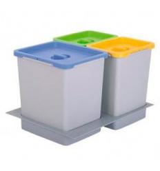 Cubos de basura ferreteria shop - Cubos reciclaje cocina ...