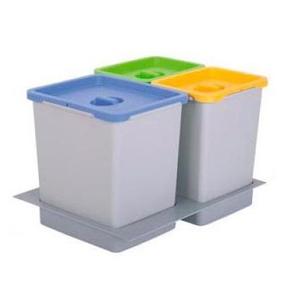cubos de basura para cajones de cocina