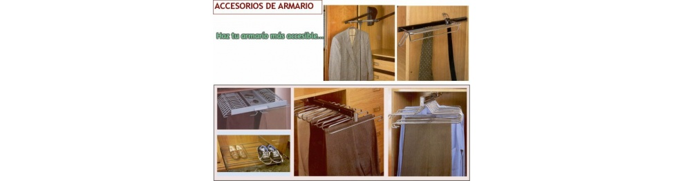 Accesorios armario